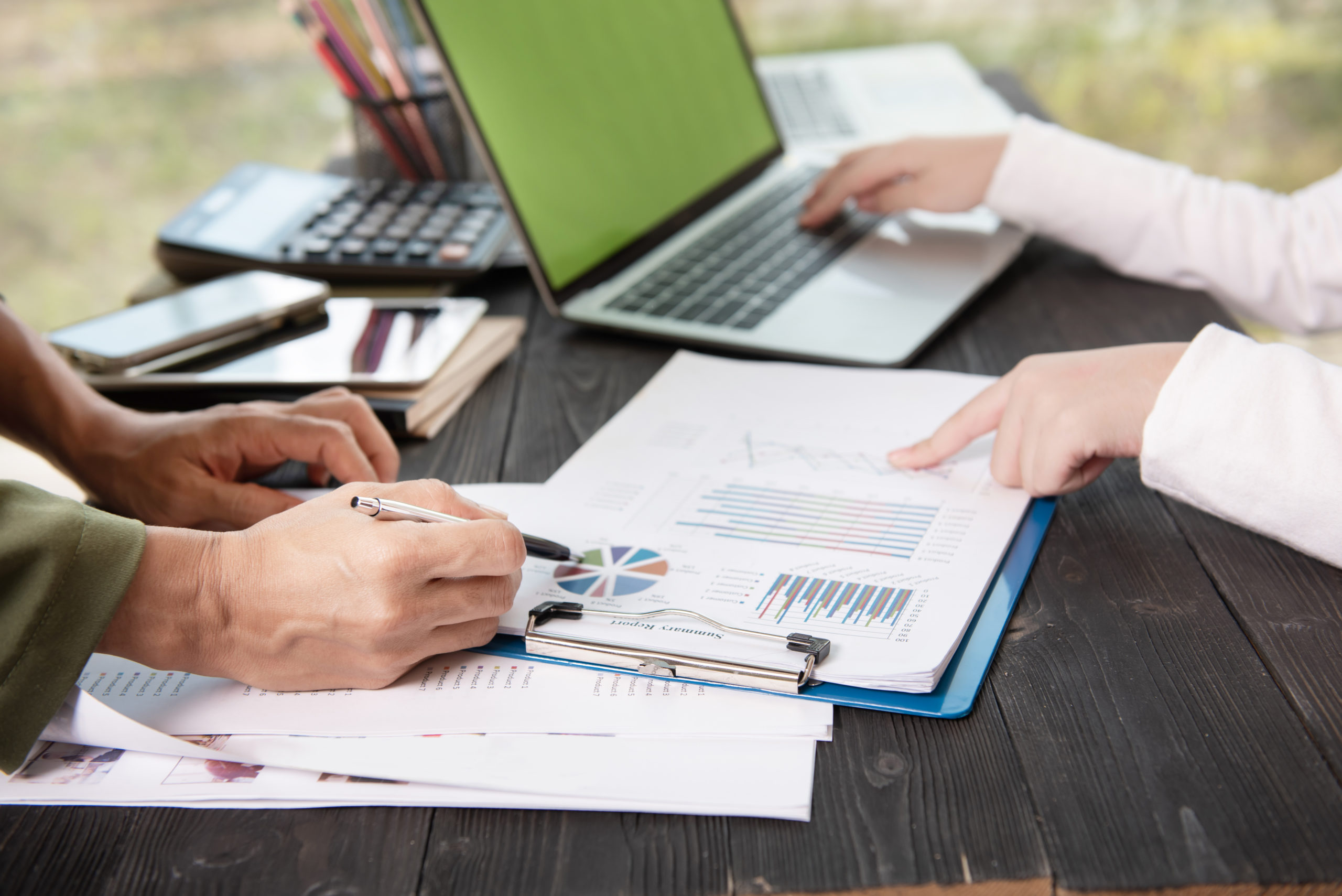Phân tích tài chính cần đi kèm với chứng từ thực tế
