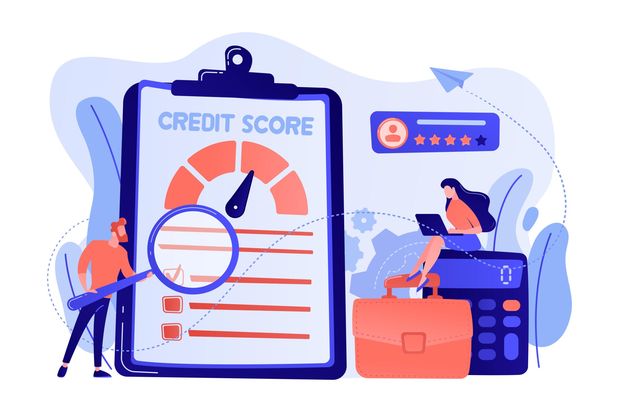 Năng lực chi trả cũng được thể hiện qua điểm tín dụng